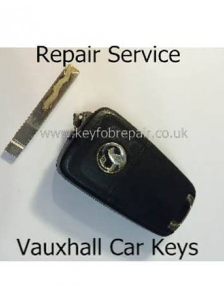 Vauxhall Flip Cam Key Fob Repair Including New Case-Astra Zafira Vectra Etc
